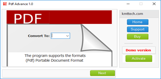 User Friendly Interface Software PDF Converter Tool